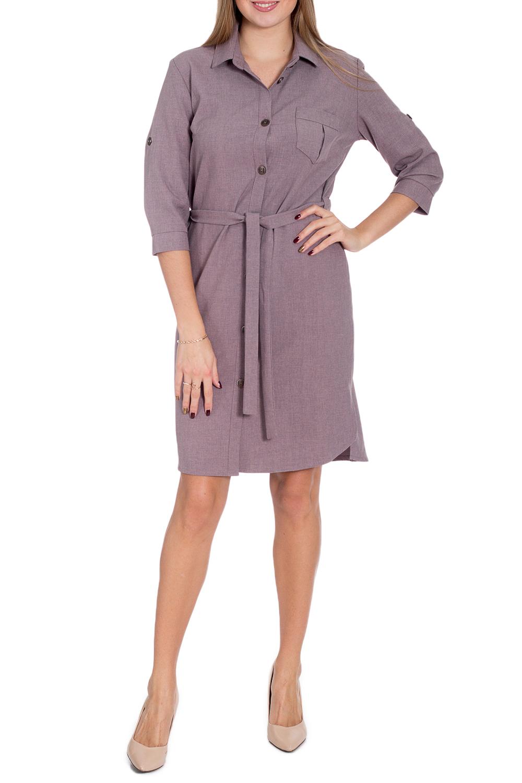 ПлатьеПлатья<br>Однотонное платье в стиле сафари. Модель выполнена из хлопкового материала. Отличный выбор для любого случая. Платье без пояса.  В изделии исползованы цвета: коричневый  Рост девушки-фотомодели 170 см.<br><br>Воротник: Рубашечный<br>По длине: До колена<br>По материалу: Хлопок<br>По рисунку: Однотонные<br>По силуэту: Полуприталенные<br>По стилю: Кэжуал,Повседневный стиль,Сафари<br>По форме: Платье - рубашка<br>По элементам: С карманами<br>Рукав: Рукав три четверти<br>По сезону: Осень,Весна<br>Размер : 42,48<br>Материал: Хлопок<br>Количество в наличии: 2