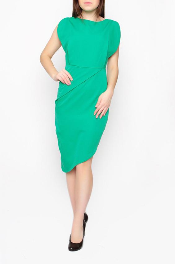 ПлатьеПлатья<br>Яркое женское платье с фигурным подолом. Модель выполнена из приятного материала. Отличный выбор для любого случая.  Цвет: зеленый  Ростовка изделия 170 см.<br><br>Горловина: С- горловина<br>По длине: Ниже колена<br>По материалу: Тканевые<br>По рисунку: Однотонные<br>По силуэту: Приталенные<br>По стилю: Повседневный стиль,Летний стиль<br>По форме: Платье - футляр<br>По элементам: С молнией,С отделочной фурнитурой,С открытой спиной,С фигурным низом<br>Рукав: Короткий рукав,Без рукавов<br>По сезону: Лето<br>Размер : 42,44,46<br>Материал: Плательная ткань<br>Количество в наличии: 3