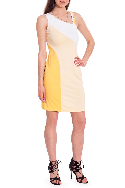 Платье лыжи беговые tisa top universal с креплением цвет желтый белый черный рост 182 см