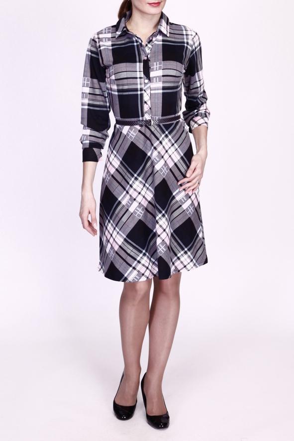 ПлатьеПлатья<br>Элегантное и практичное платье на каждый день.  Платье с поясом.  Цвет: серый, черный, белый, голубой  Ростовка изделия 170 см.<br><br>Воротник: Рубашечный<br>По длине: До колена<br>По материалу: Трикотаж,Шерсть<br>По рисунку: С принтом,Цветные,В клетку<br>По силуэту: Полуприталенные<br>По стилю: Офисный стиль,Повседневный стиль<br>По форме: Платье - рубашка,Платье - трапеция<br>По элементам: С манжетами,С пуговицами<br>Рукав: Длинный рукав<br>По сезону: Зима<br>Размер : 44,46,48<br>Материал: Джерси<br>Количество в наличии: 3
