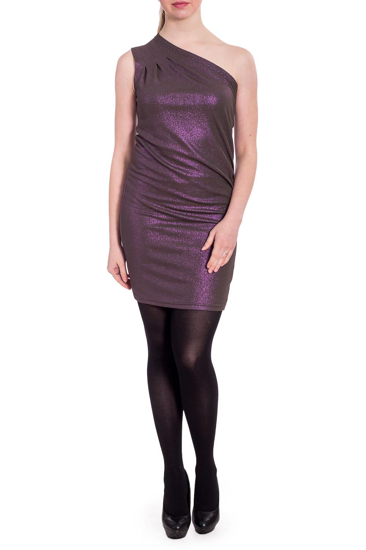 ПлатьеПлатья<br>Эффектное платье с открытым плечом обтягивающего силуэта. Модель выполнена из эластичного трикотажа. Отличный выбор для любого торжества.  В изделии использованы цвета: розовый  Рост девушки-фотомодели 170 см.<br><br>По длине: До колена<br>По материалу: Трикотаж<br>По рисунку: Цветные<br>По сезону: Весна,Зима,Лето,Осень,Всесезон<br>По силуэту: Приталенные<br>По форме: Платье - футляр<br>По элементам: Со складками,С открытыми плечами<br>Рукав: Без рукавов<br>По стилю: Нарядный стиль<br>Размер : 46,48,52<br>Материал: Трикотаж<br>Количество в наличии: 3