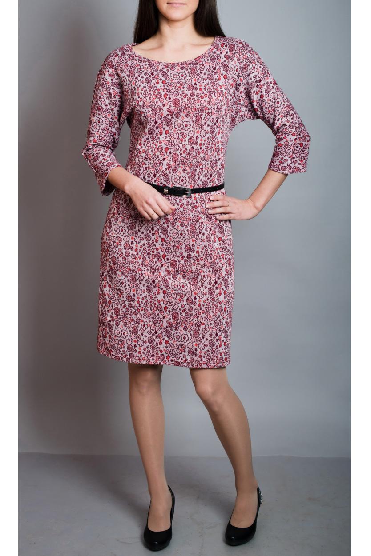 ПлатьеПлатья<br>Цветное платье с рукавами 3/4. Модель выполнена из приятного материала. Отличный выбор для повседневного гардероба.Платье без ремня.В изделии использованы цвета: розовый и др.Ростовка изделия 170 см.<br><br>Горловина: С- горловина<br>Рукав: Рукав три четверти<br>Длина: До колена<br>Материал: Вискоза,Трикотаж<br>Рисунок: С принтом,Цветные<br>Сезон: Весна,Осень,Зима<br>Силуэт: Полуприталенные<br>Стиль: Повседневный стиль<br>Форма: Платье - футляр<br>Размер : 44,46,50,52<br>Материал: Трикотаж<br>Количество в наличии: 4