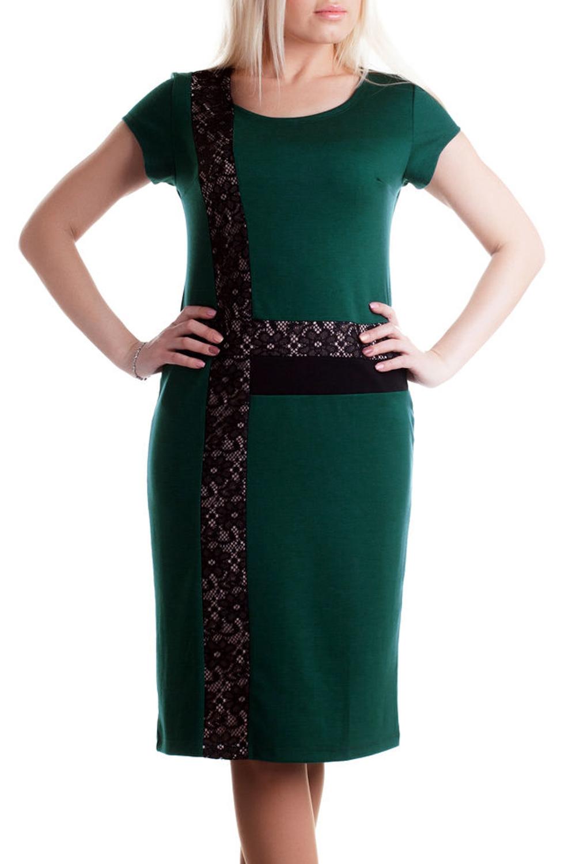 ПлатьеПлатья<br>Классическое женское платье с короткими рукавами. Цвет: зеленый.<br><br>Горловина: С- горловина<br>По длине: До колена<br>По материалу: Вискоза,Трикотаж<br>По образу: Город,Офис,Свидание<br>По рисунку: Однотонные<br>По сезону: Весна,Осень<br>По силуэту: Приталенные<br>По стилю: Классический стиль,Кэжуал,Офисный стиль,Повседневный стиль<br>По форме: Платье - футляр<br>По элементам: С декором<br>Рукав: Короткий рукав<br>Размер : 46<br>Материал: Джерси<br>Количество в наличии: 1