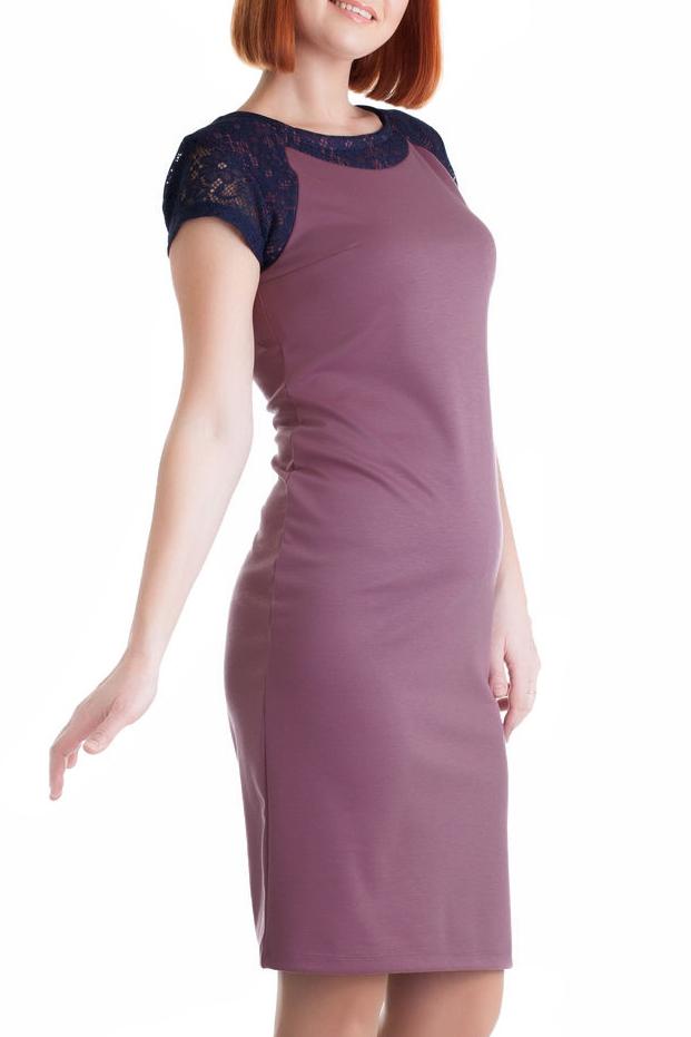 ПлатьеПлатья<br>Нарядное женское платье приталенного силуэта. Декоратиные вставки из гипюра по переду изделия. Цвет: сиреневый, синий.<br><br>Горловина: С- горловина<br>По длине: До колена<br>По материалу: Вискоза,Трикотаж<br>По сезону: Весна,Осень<br>По силуэту: Приталенные<br>По стилю: Классический стиль,Повседневный стиль<br>По форме: Платье - футляр<br>Рукав: Короткий рукав<br>По рисунку: Цветные<br>Размер : 50,56<br>Материал: Джерси<br>Количество в наличии: 2