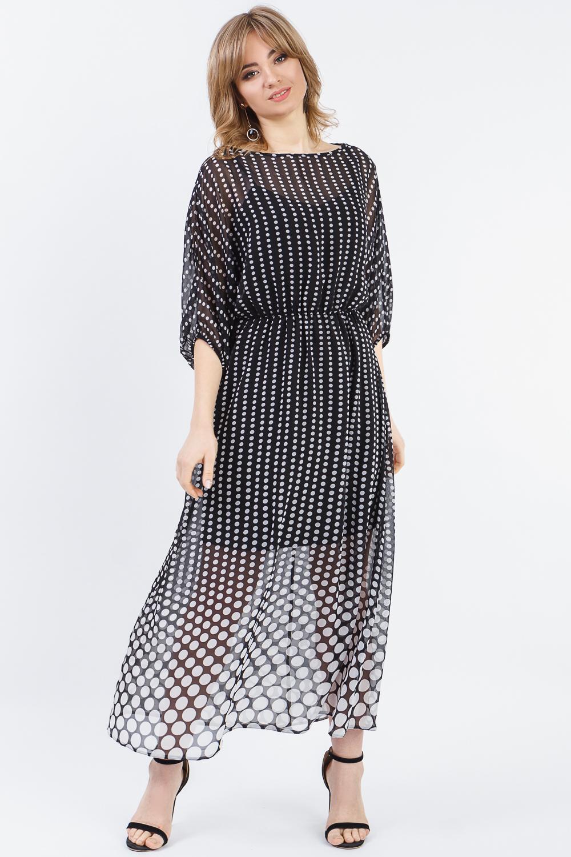 Платье из шифона S13919(4342-551) фото