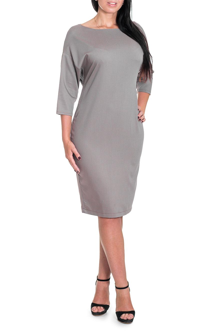 ПлатьеПлатья<br>Классика и элегантность - это залог успеха для создания Вашего повседневного образа. Дополните это стильное платье модными аксессуарами и завершите образ успешной женщины  Великолепное платье полуприлегающего силуэта. На спинке средний шов с молнией и разрезом. Горловина обработана обтачкой. Рукав рубашечный, 3/4, заужен к низу.  Цвет: бежевый  Длина рукава - 30 ± 1 см  Рост девушки-фотомодели 174 см  Длина изделия: 44 размер - 96 ± 2 см 46 размер - 96 ± 2 см 48 размер - 96 ± 2 см 50 размер - 96 ± 2 см 52 размер - 99 ± 2 см 54 размер - 99 ± 2 см 56 размер - 99 ± 2 см 58 размер - 99 ± 2 см<br><br>Горловина: Лодочка<br>По длине: Ниже колена<br>По материалу: Трикотаж<br>По рисунку: Однотонные<br>По силуэту: Полуприталенные<br>По стилю: Классический стиль,Кэжуал,Офисный стиль,Повседневный стиль<br>По форме: Платье - футляр<br>По элементам: С молнией,С разрезом<br>Разрез: Короткий<br>Рукав: Рукав три четверти<br>По сезону: Осень,Весна<br>Размер : 46,48,50,52,54<br>Материал: Трикотаж<br>Количество в наличии: 9