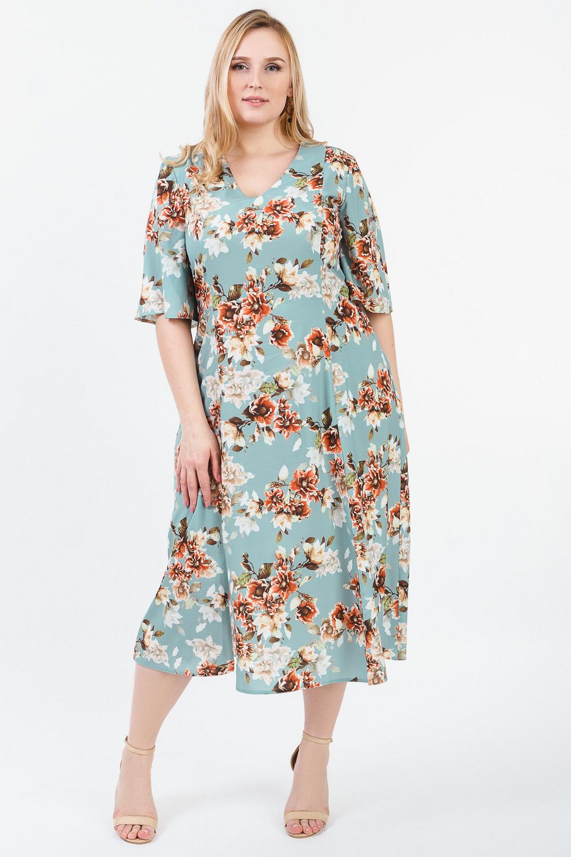 Платье с разрезами