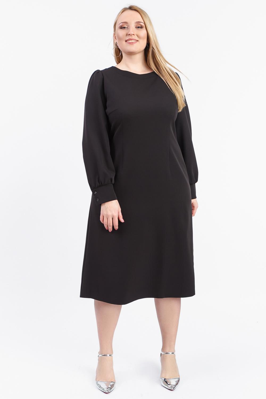 Платье с фигурной спинкой