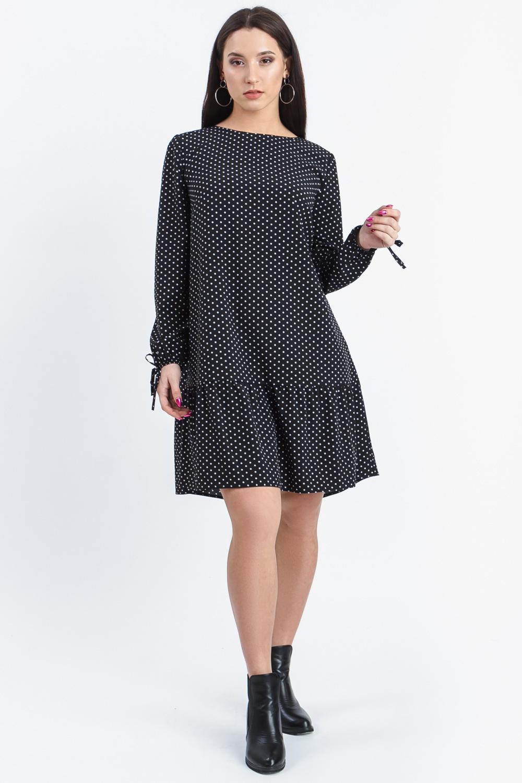 Платье в горошек S46519(4953) фото