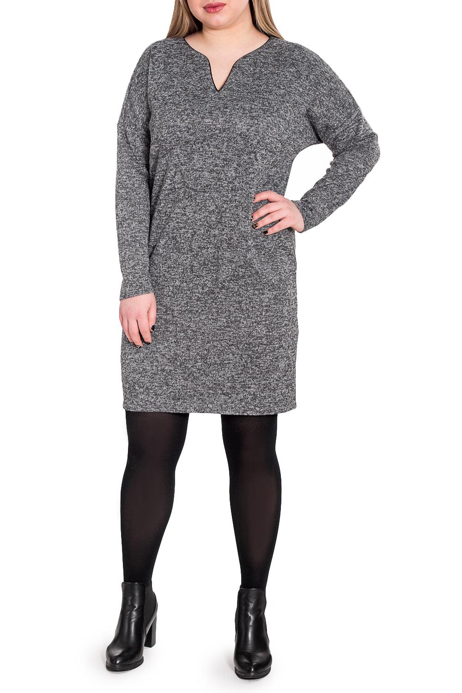 ПлатьеПлатья<br>Это гармоничное женское платье от наших дизайнеров - нотка юута в вашем гардеробе Изготовленная из мягкого трикотажа, модель имеет приятную текстуру ткани.  Платье силуэта quot;баллонquot;. На спинке средний шов. Горловина обработана обтачкой с кантом. Рукав рубашечный, длинный, со спущенной линией плеча.  Цвет: серый.  Длина рукава (от конечной плечевой точки) - 61 ± 1 см  Рост девушки-фотомодели 170 см  Длина изделия: 46 размер - 93 ± 2 см 48 размер - 93 ± 2 см 50 размер - 93 ± 2 см 52 размер - 93 ± 2 см 54 размер - 98 ± 2 см 56 размер - 98 ± 2 см 58 размер - 98 ± 2 см<br><br>Горловина: Фигурная горловина<br>По длине: До колена<br>По материалу: Трикотаж<br>По рисунку: Однотонные<br>По сезону: Осень,Зима<br>По силуэту: Свободные<br>По стилю: Кэжуал,Офисный стиль,Повседневный стиль<br>По форме: Платье - баллон<br>Рукав: Длинный рукав<br>Размер : 48,50,52,56<br>Материал: Трикотаж<br>Количество в наличии: 10