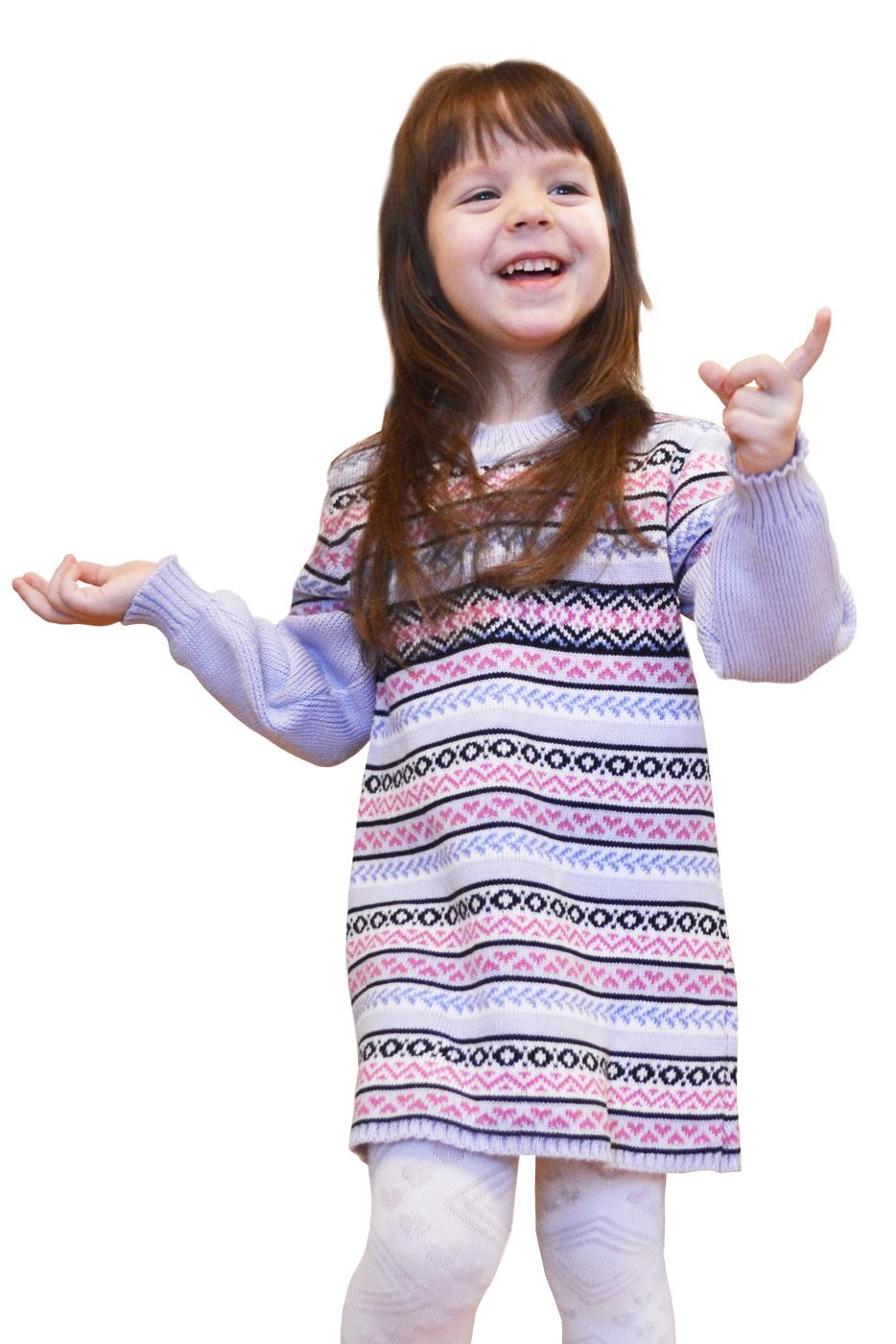 ПлатьеПлатья<br>Вязаное платье для девочки.  В изделии использованы цвета: сиреневый, розовый, черный и др.  Размер 74 соответствует росту 70-73 см Размер 80 соответствует росту 74-80 см Размер 86 соответствует росту 81-86 см Размер 92 соответствует росту 87-92 см Размер 98 соответствует росту 93-98 см Размер 104 соответствует росту 98-104 см Размер 110 соответствует росту 105-110 см Размер 116 соответствует росту 111-116 см Размер 122 соответствует росту 117-122 см Размер 128 соответствует росту 123-128 см Размер 134 соответствует росту 129-134 см Размер 140 соответствует росту 135-140 см<br><br>Горловина: С- горловина<br>По возрасту: Дошкольные ( от 3 до 7 лет),Школьные ( от 7 до 13 лет)<br>По материалу: Вязаные<br>По образу: Повседневные<br>По рисунку: В полоску,С принтом (печатью),Цветные<br>По сезону: Зима,Осень,Весна<br>По силуэту: Полуприталенные<br>По стилю: Повседневные,Теплые<br>Рукав: Длинный рукав<br>Размер : 110,116,128,134<br>Материал: Вязаное полотно<br>Количество в наличии: 4