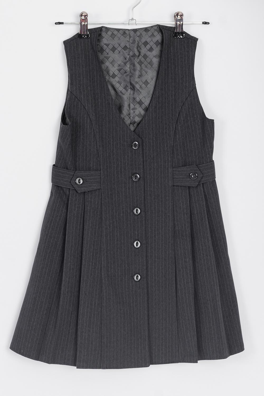 Сарафан сарафан для девочки vitacci цвет черный 2173040 03 размер 146