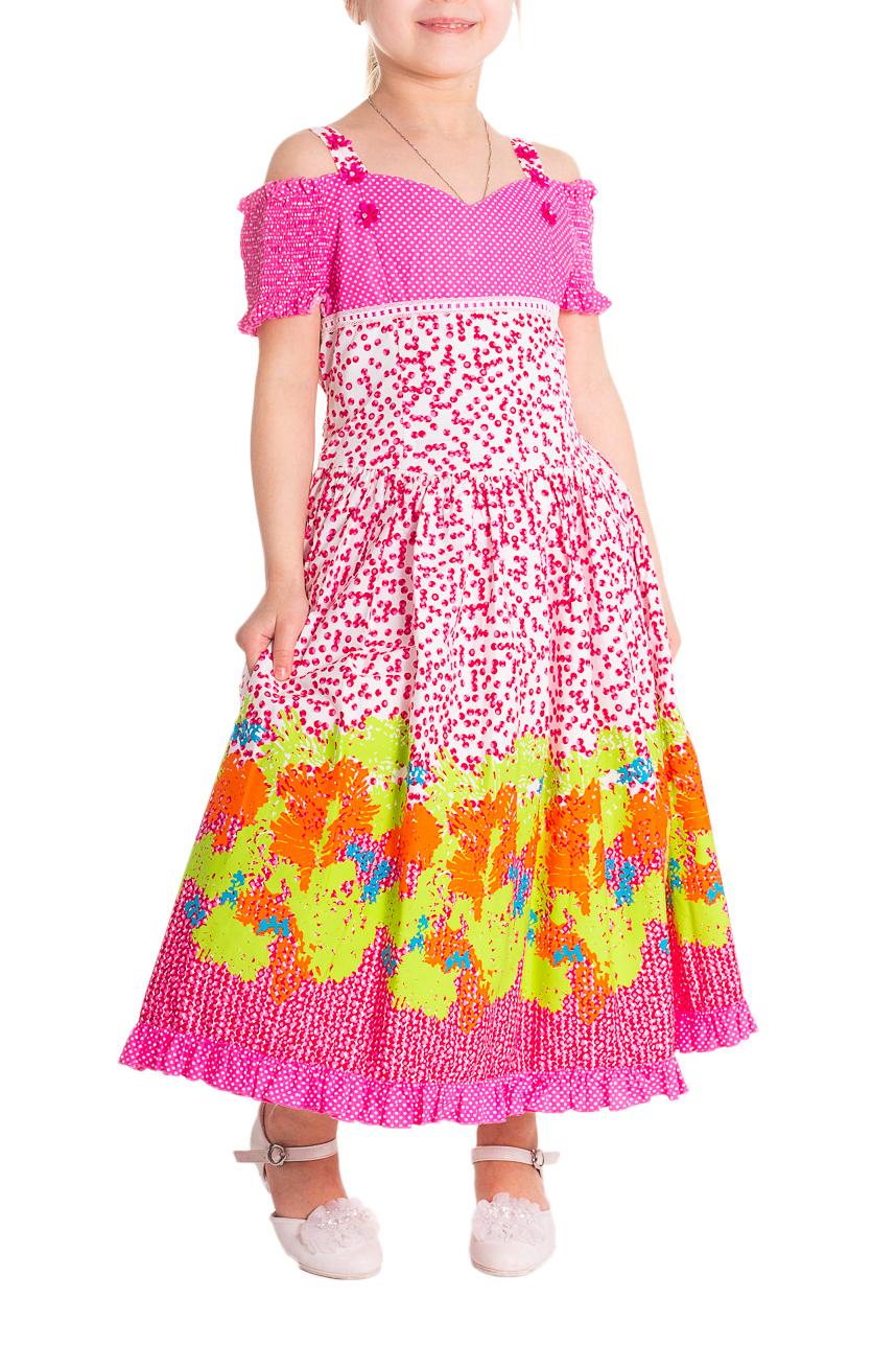 ПлатьеПлатья<br>Платье подойдет для любого торжества. Изготовлено из качественного волокна. Состав платья 100% хлопок, сетка на подкладке - 100% полиэстер.  Платье большемерит на 1 размер.  Цвет: розовый, белый, желтый  Размер 86 соответствует росту 81-86 см Размер 92 соответствует росту 87-92 см Размер 98 соответствует росту 93-98 см Размер 104 соответствует росту 98-104 см Размер 110 соответствует росту 105-110 см Размер 116 соответствует росту 111-116 см Размер 122 соответствует росту 117-122 см Размер 128 соответствует росту 123-128 см Размер 134 соответствует росту 129-134 см<br><br>По длине: Миди<br>По материалу: Хлопковые<br>По образу: Выпускной,Торжество<br>По рисунку: С принтом (печатью),Цветные<br>По сезону: Весна,Зима,Лето,Осень,Всесезон<br>По силуэту: Полуприталенные<br>По стилю: Нарядные<br>По элементам: С декором,С подкладом<br>Рукав: Короткий рукав<br>По возрасту: Дошкольные ( от 3 до 7 лет),Ясельные ( от 1 до 3 лет)<br>Бретели: Тонкие бретели<br>Размер : 104,110,98<br>Материал: Хлопок<br>Количество в наличии: 3