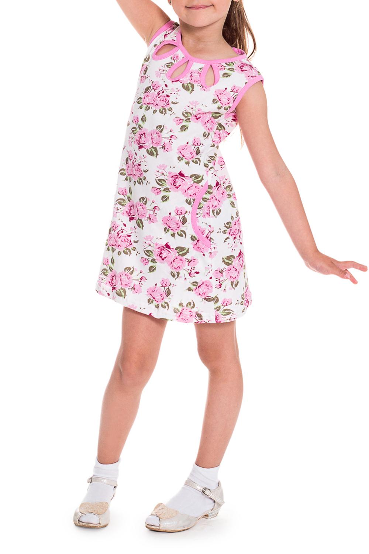ПлатьеПлатья<br>Чудесное летнее платье для девочки.  В изделии использованы цвета: белый, розовый, зеленый.  Размер 74 соответствует росту 70-73 см Размер 80 соответствует росту 74-80 см Размер 86 соответствует росту 81-86 см Размер 92 соответствует росту 87-92 см Размер 98 соответствует росту 93-98 см Размер 104 соответствует росту 98-104 см Размер 110 соответствует росту 105-110 см Размер 116 соответствует росту 111-116 см Размер 122 соответствует росту 117-122 см Размер 128 соответствует росту 123-128 см Размер 134 соответствует росту 129-134 см Размер 140 соответствует росту 135-140 см Размер 146 соответствует росту 141-146 см Размер 152 соответствует росту 147-152 см Размер 158 соответствует росту 153-158 см Размер 164 соответствует росту 159-164 см<br><br>Горловина: С- горловина<br>По материалу: Хлопковые<br>По образу: Повседневные,Уличные<br>По рисунку: Растительные мотивы,С принтом (печатью),Цветные,Цветочные<br>По силуэту: Полуприталенные<br>По стилю: Классические,Летние,Повседневные<br>По элементам: Без рукавов,С карманами<br>По возрасту: Дошкольные ( от 3 до 7 лет),Ясельные ( от 1 до 3 лет)<br>По сезону: Лето<br>Размер : 92<br>Материал: Хлопок<br>Количество в наличии: 1