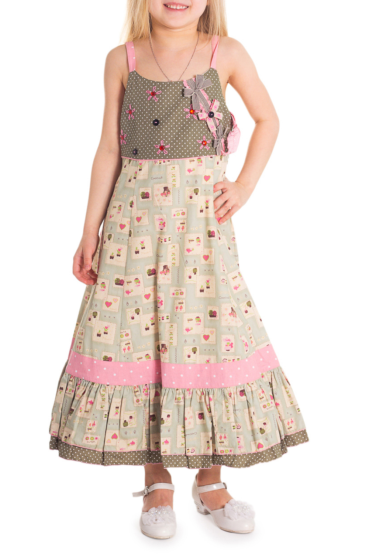 ПлатьеПлатья<br>Платье подойдет для любого торжества. Изготовлено из качественного волокна. Состав платья  100% хлопок, сетка на подкладке - 100% полиэстер.   Платье большемерит на 1 размер.  Цвет: зелено-бежевый, розовый  Размер 86 соответствует росту 81-86 см Размер 92 соответствует росту 87-92 см Размер 98 соответствует росту 93-98 см Размер 104 соответствует росту 98-104 см Размер 110 соответствует росту 105-110 см Размер 116 соответствует росту 111-116 см Размер 122 соответствует росту 117-122 см Размер 128 соответствует росту 123-128 см Размер 134 соответствует росту 129-134 см<br><br>Бретели: Тонкие бретели<br>По возрасту: Дошкольные ( от 3 до 7 лет)<br>По длине: Миди<br>По материалу: Хлопковые<br>По образу: Выпускной,Торжество<br>По рисунку: С принтом (печатью),Цветные<br>По сезону: Весна,Зима,Лето,Осень,Всесезон<br>По силуэту: Полуприталенные<br>По стилю: Нарядные<br>По элементам: Без рукавов,С декором,С подкладом<br>Размер : 122<br>Материал: Хлопок<br>Количество в наличии: 2