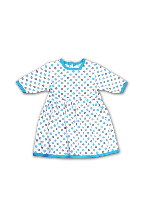 ПлатьеПлатья<br>Трикотажное платье для девочки.  В изделии использованы цвета: белый, голубой и др.   Размер соответствует росту ребенка<br><br>Горловина: С- горловина<br>По возрасту: Ясельные ( от 1 до 3 лет)<br>По длине: Миди<br>По материалу: Трикотажные<br>По образу: Повседневные<br>По рисунку: В горошек,С принтом (печатью),Цветные<br>По силуэту: Полуприталенные<br>По стилю: Повседневные<br>По форме: Трапеция<br>Рукав: Длинный рукав<br>По сезону: Осень,Весна<br>Размер : 62,68,74<br>Материал: Трикотаж<br>Количество в наличии: 3
