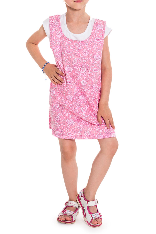 ПлатьеПлатья<br>Чудесное летнее платье для девочки. Платье выполнено в комбинации двух расцветок, имитирующих сарафан и футболку.  В изделии испоьзованы цвета: розовый, белый  Размер 74 соответствует росту 70-73 см Размер 80 соответствует росту 74-80 см Размер 86 соответствует росту 81-86 см Размер 92 соответствует росту 87-92 см Размер 98 соответствует росту 93-98 см Размер 104 соответствует росту 98-104 см Размер 110 соответствует росту 105-110 см Размер 116 соответствует росту 111-116 см Размер 122 соответствует росту 117-122 см Размер 128 соответствует росту 123-128 см Размер 134 соответствует росту 129-134 см Размер 140 соответствует росту 135-140 см Размер 146 соответствует росту 141-146 см<br><br>Горловина: С- горловина<br>По возрасту: Дошкольные ( от 3 до 7 лет),Ясельные ( от 1 до 3 лет)<br>По материалу: Трикотажные,Хлопковые<br>По образу: Повседневные,Уличные<br>По рисунку: С принтом (печатью)<br>По силуэту: Полуприталенные<br>По стилю: Летние<br>Рукав: Короткий рукав<br>По сезону: Лето<br>Размер : 116,86,98<br>Материал: Трикотаж<br>Количество в наличии: 3
