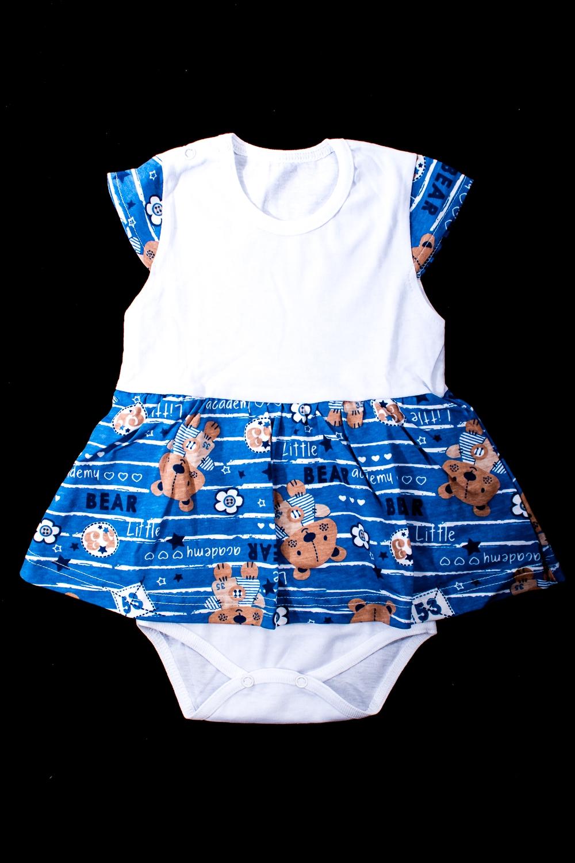 Платье-бодиКофточки<br>Хлопковое боди для новорожденного  Цвет: синий, белый и др.  Размер соответствует росту ребенка<br><br>По сезону: Всесезон<br>Размер : 68<br>Материал: Хлопок<br>Количество в наличии: 1