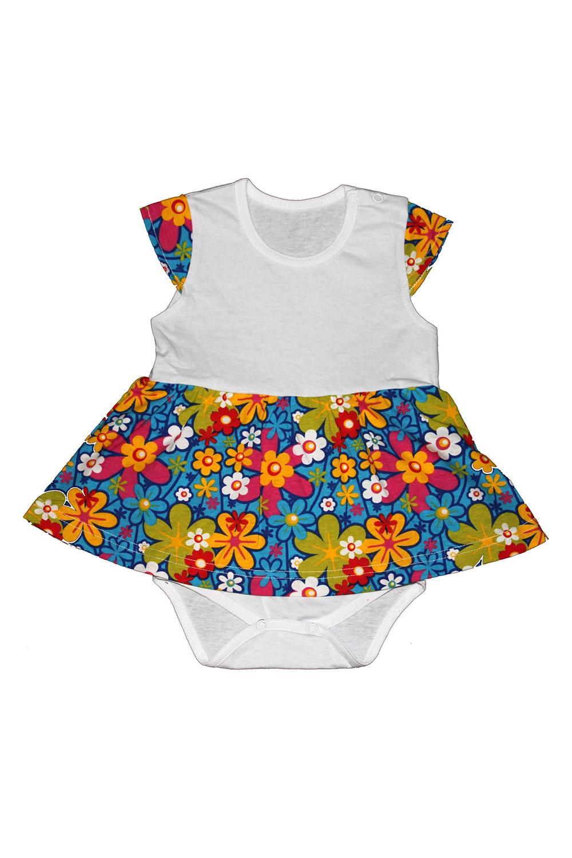 Платье-бодиКофточки<br>Хлопковое боди для новорожденного  В изделии использованы цвета: белый и др.  Размер соответствует росту ребенка<br><br>По сезону: Всесезон<br>Размер : 68<br>Материал: Хлопок<br>Количество в наличии: 2
