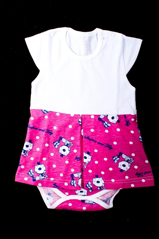 Платье-бодиКофточки<br>Хлопковое боди для новорожденного  Цвет: розовый, белый и др.  Размер соответствует росту ребенка<br><br>По сезону: Всесезон<br>Размер : 68,74,80<br>Материал: Хлопок<br>Количество в наличии: 4