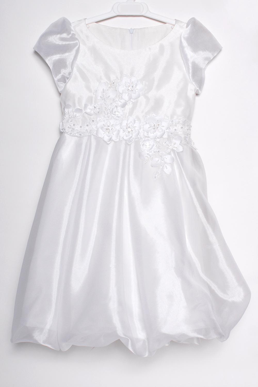 ПлатьеПлатья<br>Leli-Bambine - дизайн студия нарядной одежды для девочек.   Нарядное платье для маленькой леди. Платье выполнено из приятной вуали с декоративными цветами на лифе. Подклад 100% хлопок.  В изделии использованы цвета: белый  Размер 74 соответствует росту 70-73 см Размер 80 соответствует росту 74-80 см Размер 86 соответствует росту 81-86 см Размер 92 соответствует росту 87-92 см Размер 98 соответствует росту 93-98 см Размер 104 соответствует росту 98-104 см Размер 110 соответствует росту 105-110 см Размер 116 соответствует росту 111-116 см Размер 122 соответствует росту 117-122 см Размер 128 соответствует росту 123-128 см Размер 134 соответствует росту 129-134 см Размер 140 соответствует росту 135-140 см<br><br>Горловина: С- горловина<br>По возрасту: Дошкольные ( от 3 до 7 лет)<br>По длине: Миди<br>По материалу: Тканевые<br>По образу: Выпускной,Торжество<br>По рисунку: Однотонные<br>По сезону: Весна,Зима,Лето,Осень,Всесезон<br>По силуэту: Приталенные<br>По стилю: На выпускной,Нарядные,Романтические<br>По форме: Трапеция<br>По элементам: С декором<br>Рукав: Короткий рукав<br>Размер : 116<br>Материал: Вуаль<br>Количество в наличии: 1