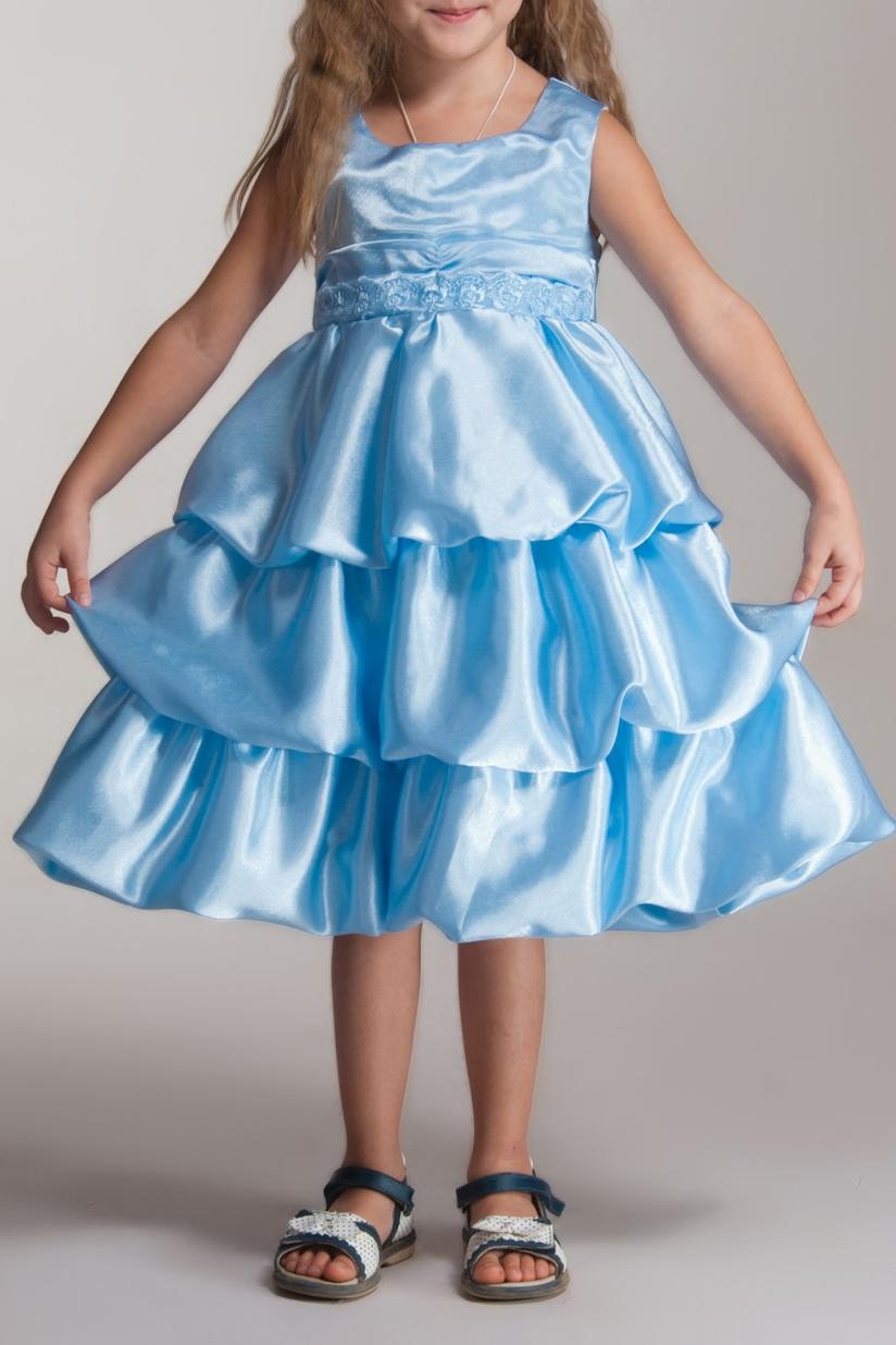 ПлатьеПлатья<br>Фасон платья - баллон, по спинке застежка молния, переходящая в юбку. Талия оформлена широким поясом контрастного цвета, завязывающимся по спинке в бант и украшенного впереди кружевом.  Юбка платья выполнена в виде присборенных и нашитых на основу широких оборок «Каскад».  Подклада 100% хлопок.   В изделии использованы цвета: голубой  Размер 74 соответствует росту 70-73 см Размер 80 соответствует росту 74-80 см Размер 86 соответствует росту 81-86 см Размер 92 соответствует росту 87-92 см Размер 98 соответствует росту 93-98 см Размер 104 соответствует росту 98-104 см Размер 110 соответствует росту 105-110 см Размер 116 соответствует росту 111-116 см Размер 122 соответствует росту 117-122 см Размер 128 соответствует росту 123-128 см Размер 134 соответствует росту 129-134 см Размер 140 соответствует росту 135-140 см Размер 146 соответствует росту 141-146 см Размер 152 соответствует росту 147-152 см Размер 158 соответствует росту 153-158 см Размер 164 соответствует росту 159-164 см Размер 170 соответствует росту 165-170 см<br><br>Горловина: С- горловина<br>По возрасту: Ясельные ( от 1 до 3 лет),Дошкольные ( от 3 до 7 лет),Школьные ( от 7 до 13 лет)<br>По длине: Миди<br>По материалу: Атласные<br>По образу: Выпускной,Торжество<br>По рисунку: Однотонные<br>По сезону: Весна,Зима,Лето,Осень,Всесезон<br>По силуэту: Приталенные<br>По стилю: На выпускной,Нарядные<br>По форме: Трапеция,С завышенной талией<br>По элементам: Без рукавов,С декором,С оборками<br>Размер : 104,116,122,134<br>Материал: Атлас<br>Количество в наличии: 4