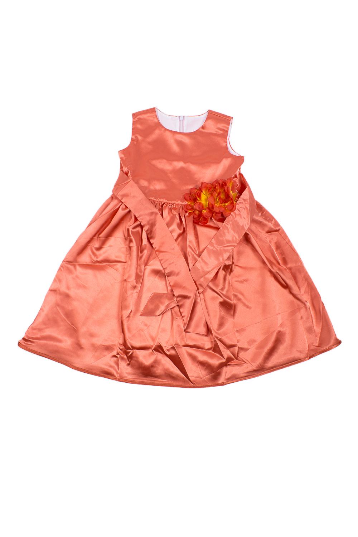 ПлатьеПлатья<br>Платье из атласа на подкладе из хлопка. Юбка трехслойная: подклада, фатин для объема и основная ткань, окантованная по низу атласной бейкрой в тон платью. Фасон платья-отрезное, присборенное по линии талии. Впереди лиф украшен красивыми цветами с нашивными жемчужинами.  В изделии использованы цвета: оранжевый  Размер 74 соответствует росту 70-73 см Размер 80 соответствует росту 74-80 см Размер 86 соответствует росту 81-86 см Размер 92 соответствует росту 87-92 см Размер 98 соответствует росту 93-98 см Размер 104 соответствует росту 98-104 см Размер 110 соответствует росту 105-110 см Размер 116 соответствует росту 111-116 см Размер 122 соответствует росту 117-122 см Размер 128 соответствует росту 123-128 см Размер 134 соответствует росту 129-134 см Размер 140 соответствует росту 135-140 см Размер 146 соответствует росту 141-146 см Размер 152 соответствует росту 147-152 см Размер 158 соответствует росту 153-158 см Размер 164 соответствует росту 159-164 см Размер 170 соответствует росту 165-170 см<br><br>Горловина: С- горловина<br>По возрасту: Школьные ( от 7 до 13 лет)<br>По длине: Миди<br>По материалу: Атласные<br>По образу: Выпускной,Торжество<br>По рисунку: Однотонные<br>По сезону: Весна,Зима,Лето,Осень,Всесезон<br>По силуэту: Приталенные<br>По стилю: На выпускной,Нарядные<br>По форме: Трапеция,С завышенной талией<br>По элементам: Без рукавов,С декором<br>Размер : 134<br>Материал: Атлас<br>Количество в наличии: 1