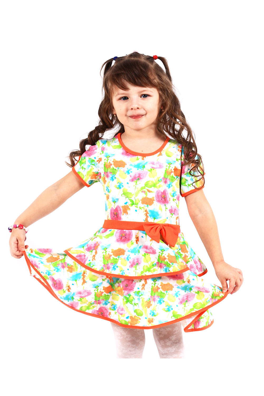 ПлатьеПлатья<br>Хлопковое платье с цветочным принтом.В изделии использованы цвета: белый, оранжевый, салатовый и др.Размер 74 соответствует росту 70-73 смРазмер 80 соответствует росту 74-80 смРазмер 86 соответствует росту 81-86 смРазмер 92 соответствует росту 87-92 смРазмер 98 соответствует росту 93-98 смРазмер 104 соответствует росту 98-104 смРазмер 110 соответствует росту 105-110 смРазмер 116 соответствует росту 111-116 смРазмер 122 соответствует росту 117-122 смРазмер 128 соответствует росту 123-128 смРазмер 134 соответствует росту 129-134 смРазмер 140 соответствует росту 135-140 смРазмер 146 соответствует росту 141-146 см<br><br>Горловина: С- горловина<br>Рукав: Короткий рукав<br>Возраст: Ясельные ( от 1 до 3 лет),Дошкольные ( от 3 до 7 лет)<br>Длина: Миди<br>Материал: Трикотажные,Хлопковые<br>Образ: Повседневные<br>Рисунок: Растительные мотивы,С принтом (печатью),Цветные,Цветочные<br>Сезон: Лето<br>Силуэт: Полуприталенные<br>Стиль: Летние,Нарядные,Повседневные<br>Форма: Трапеция<br>Элементы: С декором<br>Размер : 104,110,92,98<br>Материал: Трикотаж<br>Количество в наличии: 7