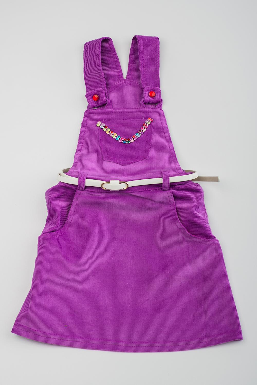 Сарафан куртка huppa 1676bh14 р 74 80 см фиолетовый