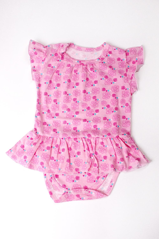 ПолукомбинезонКофточки<br>Хлопковое боди для новорожденного  Цвет: розовый и др.  Размер соответствует росту ребенка<br><br>По сезону: Всесезон<br>Размер : 62,74<br>Материал: Хлопок<br>Количество в наличии: 2