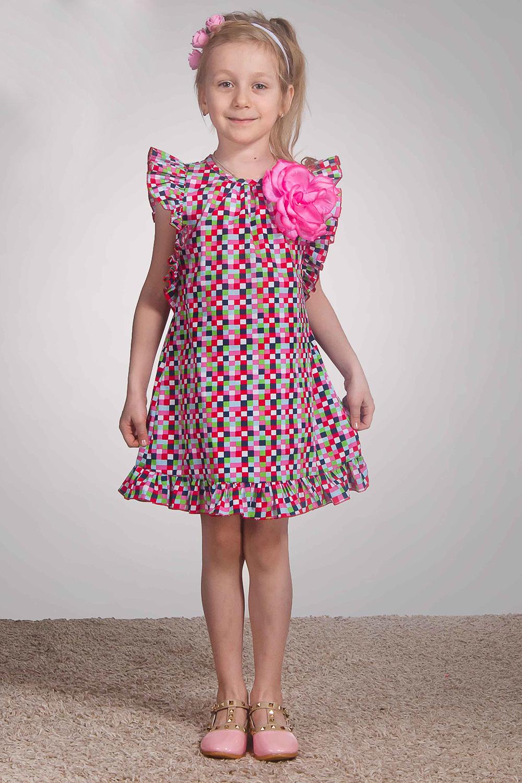 ПлатьеПлатья<br>Платье с крыльями. Невероятный объем крыльев создает неповторимый образ. По низу настрочена рюша. Отделка крыльев и рюши микрооверлогом в цвет платья. Платье без подклада и декоративного цветка.  В изделии использованы цвета: розовый и др.  Размер 74 соответствует росту 70-73 см Размер 80 соответствует росту 74-80 см Размер 86 соответствует росту 81-86 см Размер 92 соответствует росту 87-92 см Размер 98 соответствует росту 93-98 см Размер 104 соответствует росту 98-104 см Размер 110 соответствует росту 105-110 см Размер 116 соответствует росту 111-116 см Размер 122 соответствует росту 117-122 см Размер 128 соответствует росту 123-128 см Размер 134 соответствует росту 129-134 см Размер 140 соответствует росту 135-140 см Размер 146 соответствует росту 141-146 см Размер 152 соответствует росту 147-152 см Размер 158 соответствует росту 153-158 см Размер 164 соответствует росту 159-164 см Размер 170 соответствует росту 165-170 см<br><br>Горловина: С- горловина<br>По возрасту: Ясельные ( от 1 до 3 лет),Дошкольные ( от 3 до 7 лет),Школьные ( от 7 до 13 лет)<br>По длине: Миди<br>По материалу: Хлопковые<br>По образу: Повседневные,Торжество<br>По рисунку: С принтом (печатью),Цветные<br>По силуэту: Свободные<br>По стилю: Летние,Нарядные,Повседневные<br>По элементам: Без рукавов,С воланами,С декором<br>По сезону: Лето<br>Размер : 104,116,122,134,140,146,98<br>Материал: Хлопок<br>Количество в наличии: 7