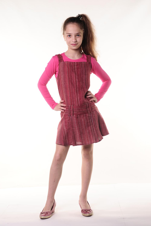 ПлатьеПлатья<br>Чудесное летнее платье для девочки.  В изделии использованы цвета: розовый, бордовый, красный  Размер 74 соответствует росту 70-73 см Размер 80 соответствует росту 74-80 см Размер 86 соответствует росту 81-86 см Размер 92 соответствует росту 87-92 см Размер 98 соответствует росту 93-98 см Размер 104 соответствует росту 98-104 см Размер 110 соответствует росту 105-110 см Размер 116 соответствует росту 111-116 см Размер 122 соответствует росту 117-122 см Размер 128 соответствует росту 123-128 см Размер 134 соответствует росту 129-134 см Размер 140 соответствует росту 135-140 см Размер 146 соответствует росту 141-146 см Размер 152 соответствует росту 147-152 см Размер 158 соответствует росту 153-158 см Размер 164 соответствует росту 159-164 см<br><br>Бретели: Широкие бретели<br>По возрасту: Школьные ( от 7 до 13 лет)<br>По длине: Миди<br>По материалу: Лен<br>По образу: Повседневные<br>По рисунку: В полоску,Цветные<br>По силуэту: Полуприталенные<br>По стилю: Повседневные<br>По форме: Прямые<br>По элементам: Без рукавов<br>По сезону: Лето<br>Размер : 128,134<br>Материал: Лен<br>Количество в наличии: 6