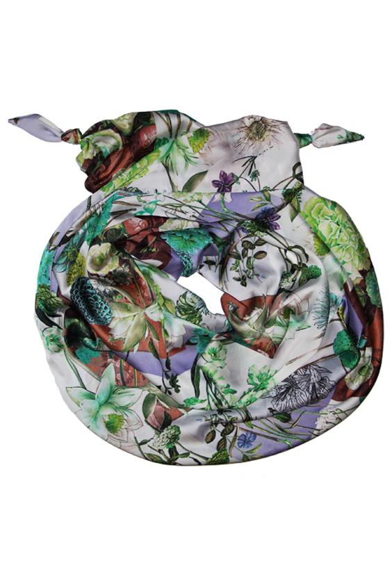 ШарфШарфы<br>Очаровательный женский шарф, который украсит Ваш образ  Цвет: белый, зеленый и др.  Размер: 185*65 см<br><br>Размер : UNI<br>Материал: Искусственный шелк<br>Количество в наличии: 1