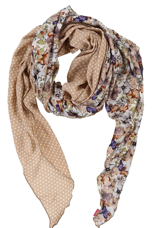 ШарфШарфы<br>Очаровательный женский шарф, который украсит Ваш образ  Цвет: бежевый и др.  Размер: 250*75 см<br><br>Размер : UNI<br>Материал: Вискоза<br>Количество в наличии: 1