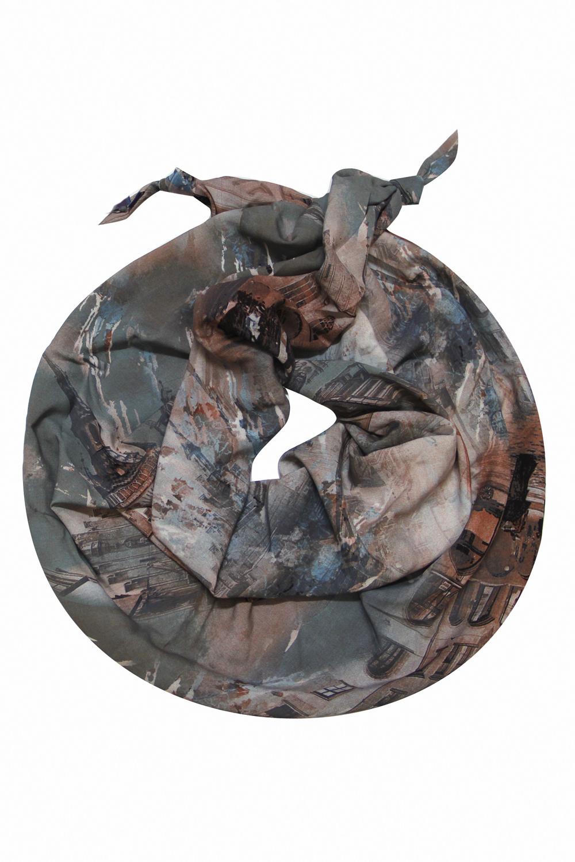 ШарфШарфы<br>Очаровательный женский шарф, который украсит Ваш образ  Цвет: мультицвет, серый и др.  Размер: 185*65 см<br><br>Размер : UNI<br>Материал: Вискоза<br>Количество в наличии: 1