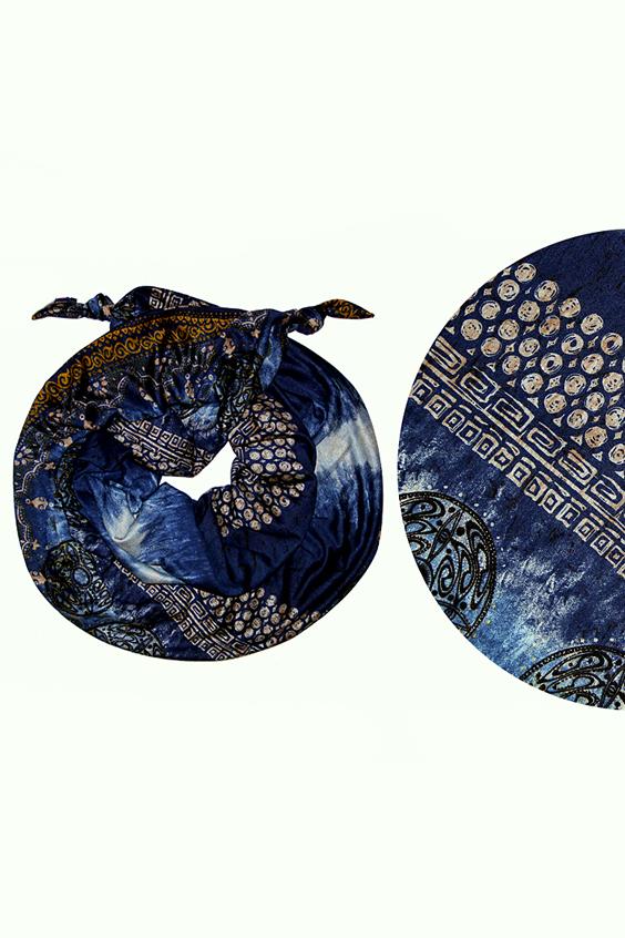 ШарфШарфы<br>Очаровательный женский шарф, который украсит Ваш образ  Цвет: синий и др.  Размер: 185*65 см<br><br>Размер : UNI<br>Материал: Трикотаж<br>Количество в наличии: 1