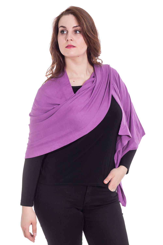 ПалантинПалантины<br>Классический женский палантин должен быть в арсенале каждой модницы  Цвет: фиолетовый<br><br>По сезону: Осень,Весна<br>Размер : UNI<br>Материал: Трикотаж<br>Количество в наличии: 1