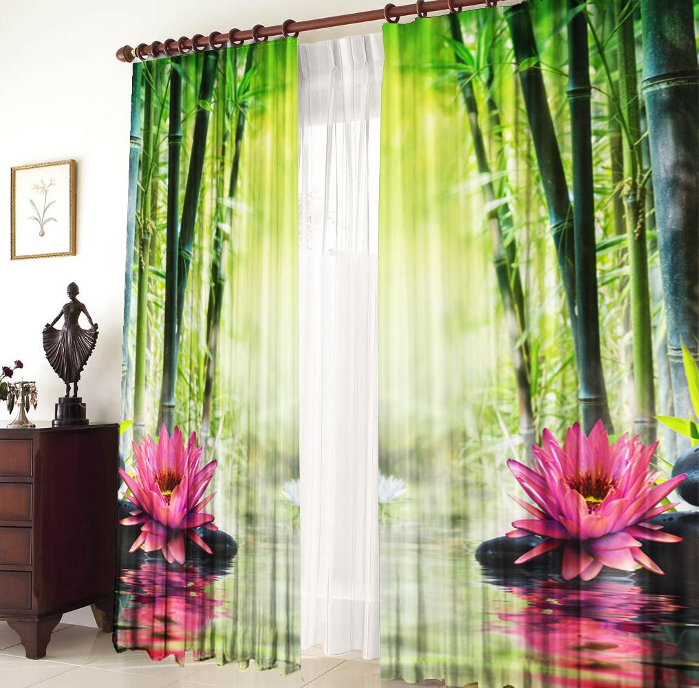 Шторы для комнатыДля комнаты<br>Шторы для комнаты:  В комплекте 2 полотна: Длина 145 см +/- 5 см Высота 270 см +/- 5 см<br><br>По стилю: Классические шторы,Раздвижные шторы<br>По материалу: Портьерные ткани<br>По рисунку: Цветочные,Растительные мотивы,С принтом (печатью),Цветные<br>Карниз: Однорядный<br>Размеры: До пола<br>Размер: 290*270<br>Материал: 100% полиэстер<br>Количество в наличии: 1