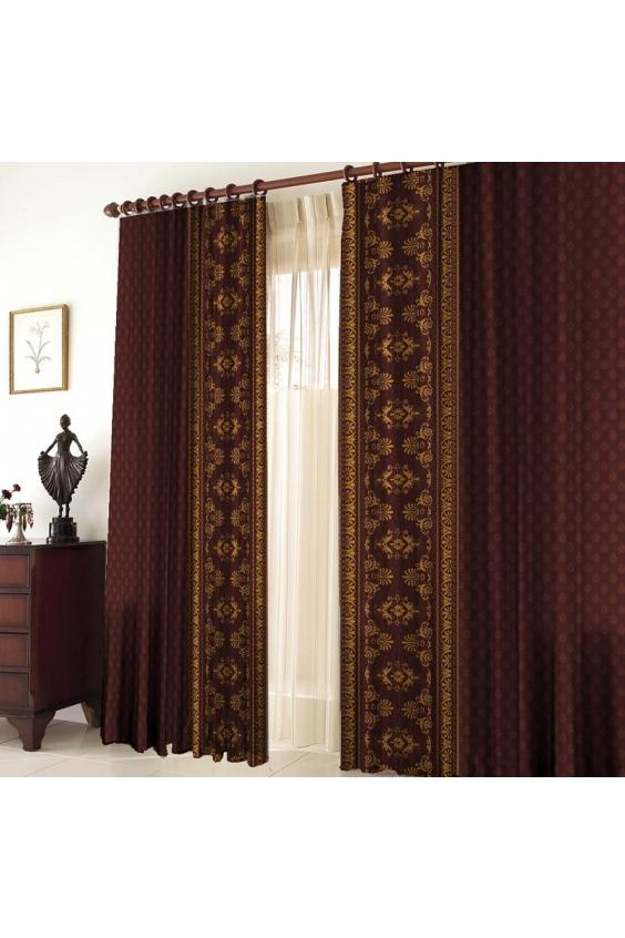 Шторы для кухниДля комнаты<br>Чудесные шторы для комнаты. Украсте свой дом с нашими изделиями  Цвет: коричнево-бордовый.  В комплект входят: 2 полотна размером: 145 * 270 ± 5 см  Тюль в комплект не входит   Крепление: Шторная лента (на обычный карниз)<br><br>Карниз: Однорядный<br>По материалу: Тканевые<br>По рисунку: Однотонные<br>По стилю: Классические шторы,Раздвижные шторы<br>Размеры: До пола<br>Размер : 290*270<br>Материал: Габардин<br>Количество в наличии: 1