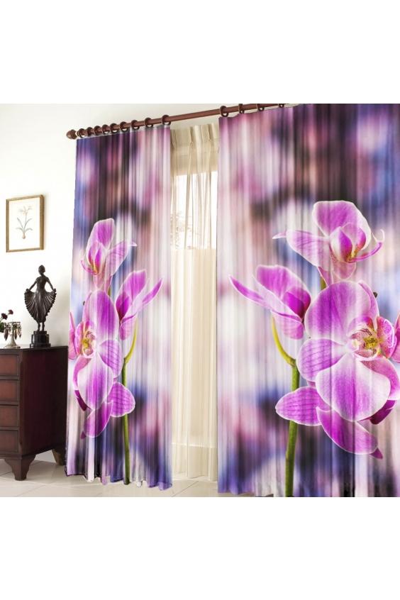 Шторы для комнатыДля комнаты<br>Чудесные шторы для комнаты. Украсте свой дом с нашими изделиями  Цвет: сиреневый, розовый, белый и др.  В комплект входят: 2 полотна размером: 145 * 270 ± 5 см  Тюль в комплект не входит.   Крепление: Шторная лента (на обычный карниз)<br><br>Карниз: Однорядный<br>По материалу: Тканевые<br>По рисунку: Растительные мотивы,Цветные,Цветочные,С принтом<br>По стилю: Классические шторы,Раздвижные шторы<br>Размеры: До пола<br>Размер : 290*270<br>Материал: Габардин<br>Количество в наличии: 2