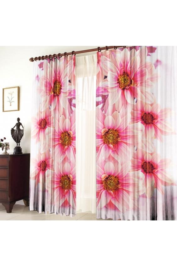 Шторы для комнатыДля комнаты<br>Чудесные шторы для комнаты. Украсте свой дом с нашими изделиями  Цвет: кремовый, розовый, белый.  В комплект входят: 2 полотна размером: 145 * 270 ± 5 см Тюль в комплект не входит.  Крепление: Шторная лента (на обычный карниз)<br><br>Карниз: Однорядный<br>По материалу: Тканевые<br>По рисунку: Растительные мотивы,Цветные,Цветочные,С принтом<br>По стилю: Классические шторы,Раздвижные шторы<br>Размеры: До пола<br>Размер : 290*270<br>Материал: Габардин<br>Количество в наличии: 1