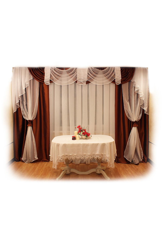 Шторы для комнаты LacyWear SHT(6)-VIO