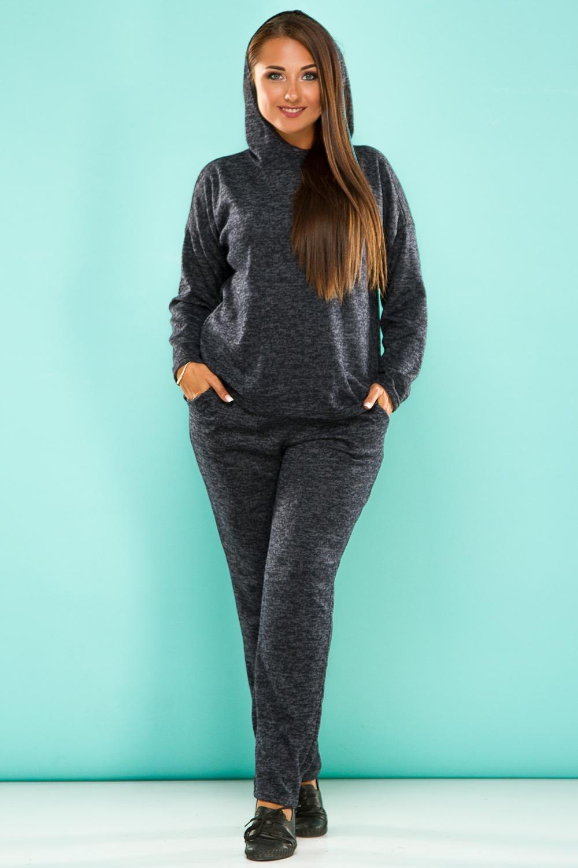 Костюм брюки широкие длина по внутр шву 78 см