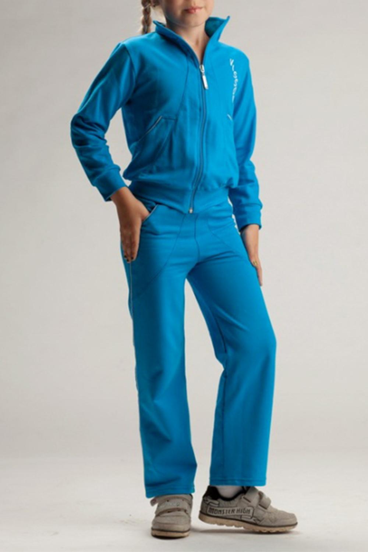 Спортивный костюмКостюмы<br>Удобный спортивный костюм для девочки. Модель выполнена из приятного материала. Отличный выбор для занятий спортом и активного отдыха.  Цвет: голубой  Размер 74 соответствует росту 70-73 см Размер 80 соответствует росту 74-80 см Размер 86 соответствует росту 81-86 см Размер 92 соответствует росту 87-92 см Размер 98 соответствует росту 93-98 см Размер 104 соответствует росту 98-104 см Размер 110 соответствует росту 105-110 см Размер 116 соответствует росту 111-116 см Размер 122 соответствует росту 117-122 см Размер 128 соответствует росту 123-128 см Размер 134 соответствует росту 129-134 см Размер 140 соответствует росту 135-140 см Размер 146 соответствует росту 141-146 см Размер 152 соответствует росту 147-152 см Размер 158 соответствует росту 153-158 см Размер 164 соответствует росту 159-164 см<br><br>Воротник: Стойка<br>По возрасту: Дошкольные ( от 3 до 7 лет),Школьные ( от 7 до 13 лет)<br>По длине: Удлиненные<br>По материалу: Трикотажные,Хлопковые<br>По образу: Повседневные,Уличные<br>По рисунку: Однотонные<br>По силуэту: Полуприталенные<br>По элементам: С карманами,С молнией<br>Рукав: Длинный рукав,С манжетой<br>По сезону: Осень,Весна<br>Размер : 122,128<br>Материал: Трикотаж<br>Количество в наличии: 2