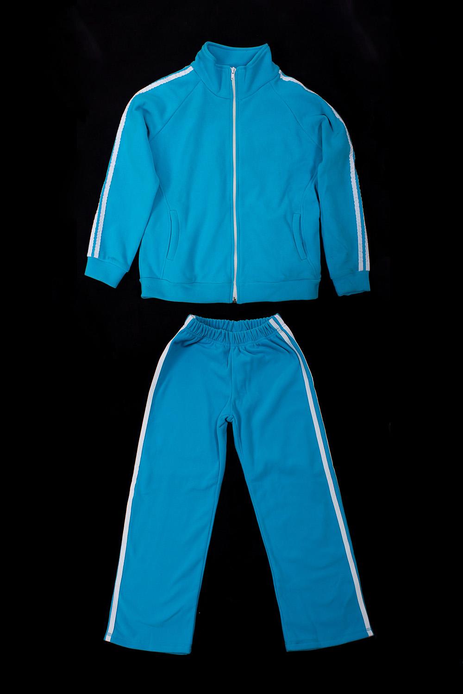 Спортивный костюмКостюмы<br>Трикотажный костюм для мальчика  В изделии использованы цвета: голубой, белый.  Размер 74 соответствует росту 70-73 см Размер 80 соответствует росту 74-80 см Размер 86 соответствует росту 81-86 см Размер 92 соответствует росту 87-92 см Размер 98 соответствует росту 93-98 см Размер 104 соответствует росту 98-104 см Размер 110 соответствует росту 105-110 см Размер 116 соответствует росту 111-116 см Размер 122 соответствует росту 117-122 см Размер 128 соответствует росту 123-128 см Размер 134 соответствует росту 129-134 см Размер 140 соответствует росту 135-140 см Размер 146 соответствует росту 141-146 см Размер 152 соответствует росту 147-152 см Размер 158 соответствует росту 153-158 см Размер 164 соответствует росту 159-164 см<br><br>Воротник: Стойка<br>По возрасту: Школьные ( от 7 до 13 лет)<br>По материалу: Трикотажные<br>По образу: Повседневные,Спорт,Уличные<br>По рисунку: Однотонные<br>По сезону: Зима,Осень,Весна<br>По силуэту: Полуприталенные<br>По стилю: Повседневные,Спортивные<br>По элементам: С карманами,С молнией<br>Рукав: Длинный рукав<br>Размер : 110,116,122<br>Материал: Трикотаж<br>Количество в наличии: 6