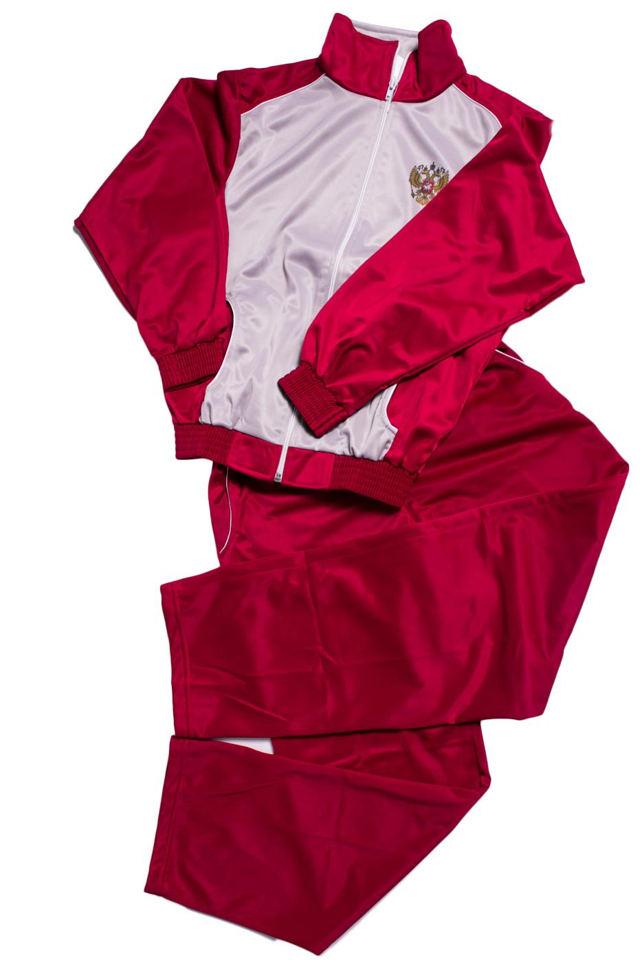 Спортивный костюмКостюмы<br>Спортивный костюм для девочки. Отличный выбор для занятий спортом или активного отдыха.  В изделии использованы цвета: красный, серый, белый  Размер 74 соответствует росту 70-73 см Размер 80 соответствует росту 74-80 см Размер 86 соответствует росту 81-86 см Размер 92 соответствует росту 87-92 см Размер 98 соответствует росту 93-98 см Размер 104 соответствует росту 98-104 см Размер 110 соответствует росту 105-110 см Размер 116 соответствует росту 111-116 см Размер 122 соответствует росту 117-122 см Размер 128 соответствует росту 123-128 см Размер 134 соответствует росту 129-134 см Размер 140 соответствует росту 135-140 см Размер 146 соответствует росту 141-146 см Размер 152 соответствует росту 147-152 см Размер 158 соответствует росту 153-158 см Размер 164 соответствует росту 159-164 см<br><br>По сезону: Осень,Весна<br>Размер : 152<br>Материал: Полиэстер<br>Количество в наличии: 1