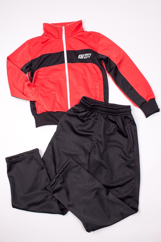Спортивный костюмСпортивная одежда<br>Спортивный костюм из эластичного трикотажа. Отличный выбор для занятий спортом или активного отдыха.В изделии использованы цвета: коралловый, темно-серыйРазмер 74 соответствует росту 70-73 смРазмер 80 соответствует росту 74-80 смРазмер 86 соответствует росту 81-86 смРазмер 92 соответствует росту 87-92 смРазмер 98 соответствует росту 93-98 смРазмер 104 соответствует росту 98-104 смРазмер 110 соответствует росту 105-110 смРазмер 116 соответствует росту 111-116 смРазмер 122 соответствует росту 117-122 смРазмер 128 соответствует росту 123-128 смРазмер 134 соответствует росту 129-134 смРазмер 140 соответствует росту 135-140 смРазмер 146 соответствует росту 141-146 смРазмер 152 соответствует росту 147-152 смРазмер 158 соответствует росту 153-158 смРазмер 164 соответствует росту 159-164 см<br><br>Сезон: Всесезон<br>Размер : 128,134,140,146,152<br>Материал: Полиэстер<br>Количество в наличии: 5