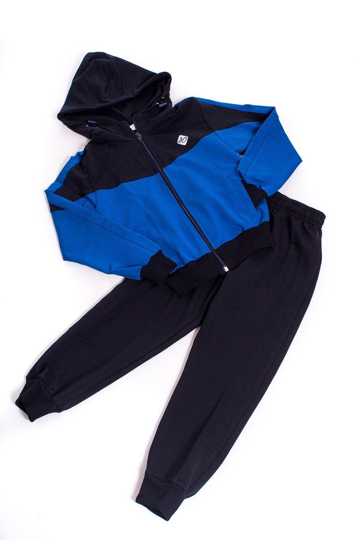 Спортивный костюм лонгслив для мальчика твое цвет темно синий 60482 размер 98