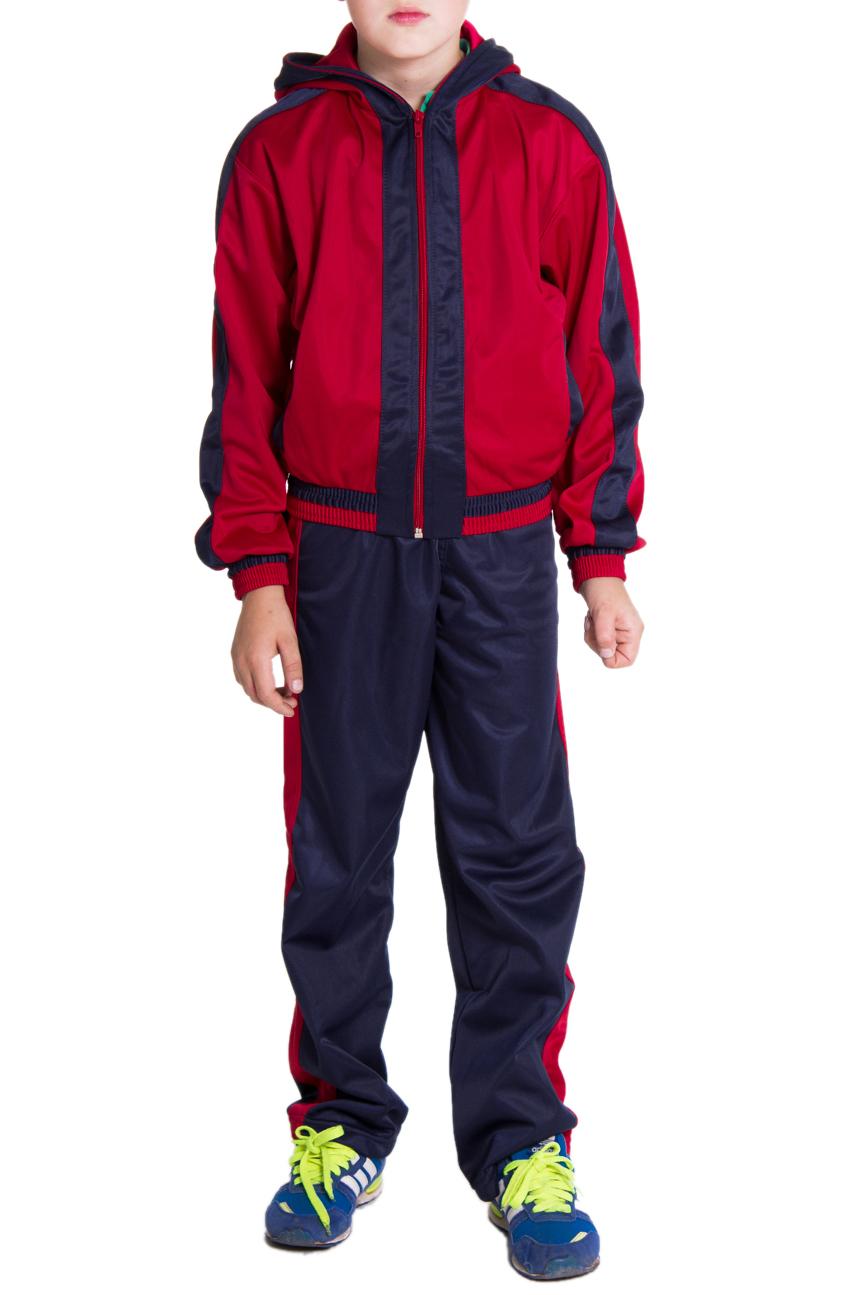 Спортивный костюмКостюмы<br>Спортивный костюм для мальчика  Размер 128 соответствует росту 123-128 см Размер 134 соответствует росту 129-134 см Размер 140 соответствует росту 135-140 см Размер 146 соответствует росту 141-146 см Размер 152 соответствует росту 147-152 см Размер 158 соответствует росту 153-158 см Размер 160 соответствует росту 158-160 см   Цвет: синий, красный<br><br>По возрасту: Школьные ( от 7 до 13 лет),Подростковые ( от 13 до 16 лет)<br>По длине: Макси<br>По материалу: Трикотажные<br>По образу: Повседневные,Спорт,Уличные<br>По рисунку: Цветные<br>По силуэту: Полуприталенные<br>По стилю: Спортивные<br>По форме: Костюм двойка<br>По элементам: С декором,С карманами,С молнией<br>Рукав: Длинный рукав,С манжетой<br>По сезону: Осень,Весна<br>Размер : 134,160<br>Материал: Полиэстер<br>Количество в наличии: 3