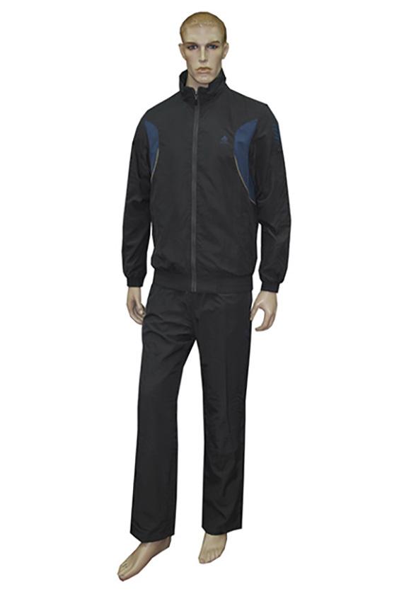 Спортивный костюмСпортивная одежда<br>Мужской спортивный костюм из эластичного трикотажа. Отличный выбор для активного отдыха.  Цвет: серый, синий<br><br>По сезону: Осень,Весна<br>Размер : 46,48<br>Материал: Полиэстер<br>Количество в наличии: 2